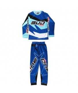 Pyjama BUD Racing Bleu 2 pièce