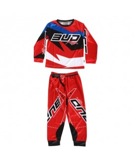 Pyjama BUD Racing rouge 2 pièce