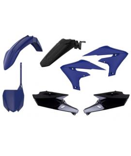 kit plastique POLISPORT 450 YZF 18-19 et 250 YZF 19 bleu noir