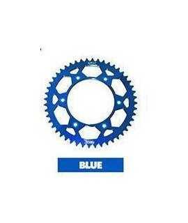 couronne alu 4MX pour KTM et HUSQVARNA 14-18 bleue