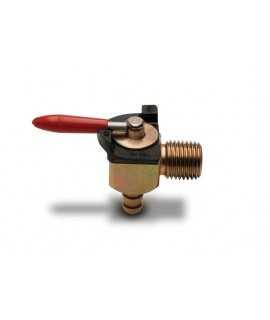 "robinet essence MOTION PRO 6mm 90° filetage 1/4"""