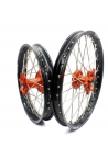 paire TECH2 KTM 85 SX 14-18 orange / noir