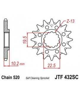pignon JT SPROCKET 250 RM 82-08