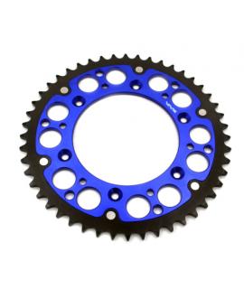 couronne VMX bi-metal bleu noir pour HUSQVARNA TC, FC, TEet FE 14-19, KTM SX/F et EXC/F