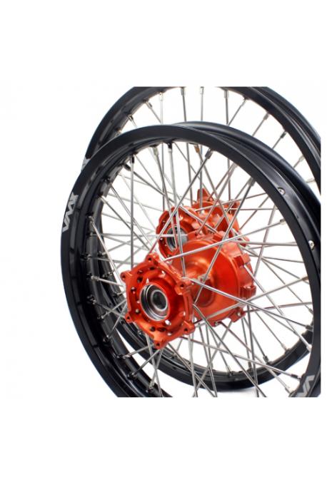 roue avant VMX SX/F 03-19 en 60 X 21 orange / noir