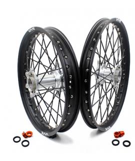 roue arriere VMX SX/F 03-19 et HVA 14-19 en 215 X 19 silver / noir