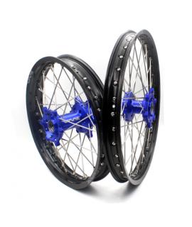 roue arriere VMX SHERCO SE/F 13-19 en 215 X 18 bleu / noir