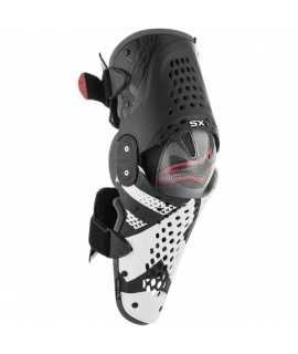 Genouillères ALPINESTARS SX1 noir blanc rouge