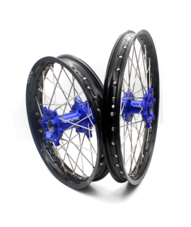 """roue arriere 16"""" VMX 85 SX 13-20 bleu / noir (grande roue)"""