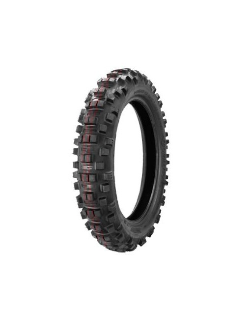 pneu arriere BORILLI enduro super soft red 140/80-18