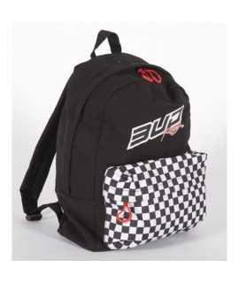 Sac à dos School Bud Racing Checkers Noir/Blanc