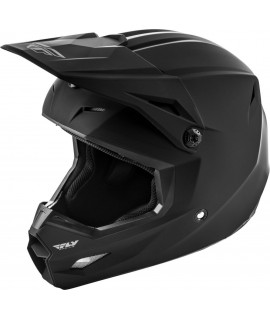 CASQUE FLY KINETIC SOLID 2021 NOIR MAT