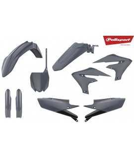 kit plastique POLISPORT 450 YZF 18-19 et 250 YZF 19 gris nardo