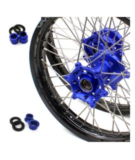 paire VMX 85 YZ 01-19 et 85 RM 01-19 bleu noir petite roue