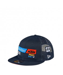 casquette KTM team youth snapback hat navy