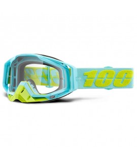 masque 100% Racecraft Pinacle - Clear lens