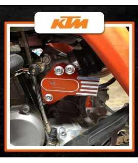 protection alu TPI pour KTM 250/300 EXC 2018-2020 orange