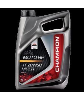 Huile moteur 4T Champion Moto HP 20w50 4 litres