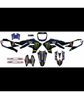 Kit déco D'Cor Team Yamaha Star Racing 125/250 YZ 2015-2020