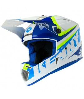 Casque KENNY TRACK ADULTE 2020 FOCUS CYAN NEON YELLOW