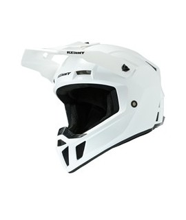 Casque KENNY PERFORMANCE SOLID WHITE PEARL (PRF)
