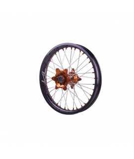 roue arriere KITE sport SX/F 13-20 215 X 19 orange / noir / orange