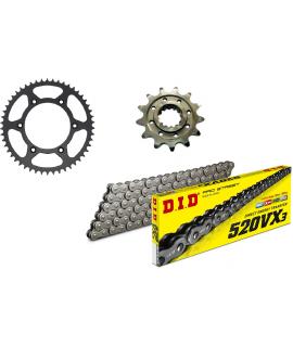 kit chaine 4MX DID VX3 SX/F- EXC/F et TE-FE, TC/FC 14-20