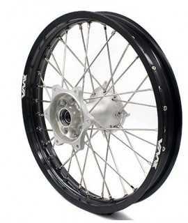 """roue arriere 16"""" VMX 85 SX 13-20 silver / noir (grande roue)"""