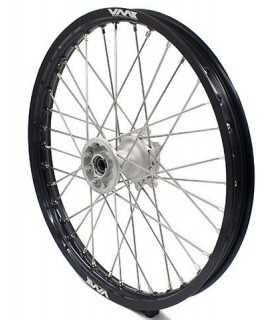 """roue avant VMX 85 SX 04-21 et 85 TC 14-21 silver / noir 160x19"""""""