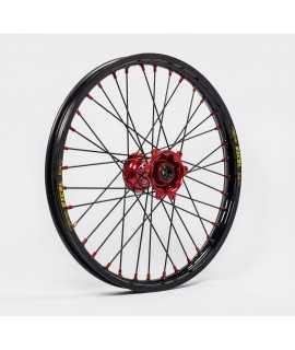 roue avant KITE 125/250 CR 02-07, 250/450 CRF 02-21 rouge / noir / rouge / noir