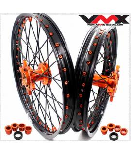 paire VMX KTM SX/F 03-21 orange / noir / orange / noir