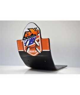 semelle AXP 125 SX 16-21 noir avec deco orange