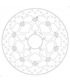 DISQUE AVANT BREMBO 78B408B2 DUCATI SCRAMBLER 15-17 SEMI FLOTTANT