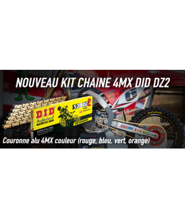 kit chaine 4MX DID DZ2 85 YZ 02-21
