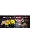 kit chaine 4MX DID DZ2 125 YZ 05-18 et 250 YZF 01-18