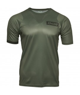 maillot THOR assist short sleeve army