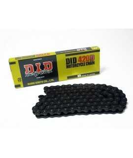 Chaîne de transmission D.I.D 420 D noir/noir 130 maillons