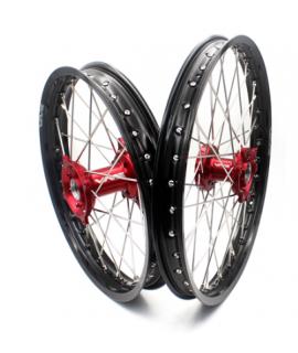 paire de roues VMX EC / F 2021 rouge noir