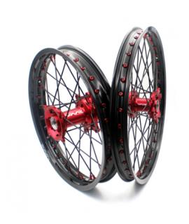 paire de roues VMX MC / F 2021 rouge noir rouge noir