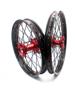paire de roues VMX EC / F 2021-2022 rouge noir rouge noir