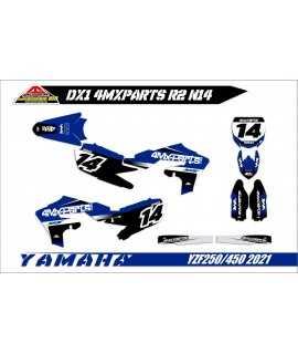 kit deco 450 YZF 2018-2021 replica 4MX PARTS