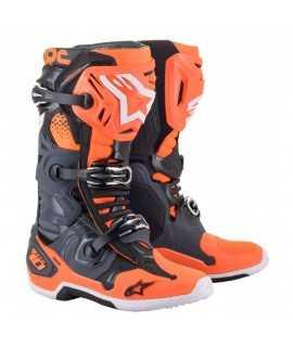 Bottes Alpinestars Tech 10 Orange Noir