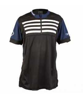 maillot FASTHOUSE BIKE crossline stripes black