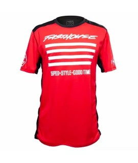 maillot FASTHOUSE BIKE fastline slash short sleeve red