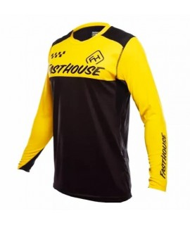 maillot FASTHOUSE BIKE alloy block yelow/ black