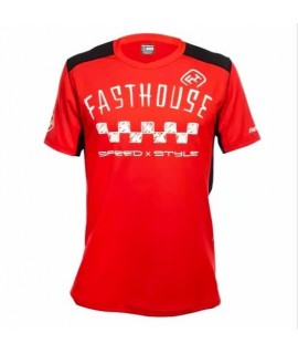 maillot FASTHOUSE BIKE alloy nelson short sleeve red