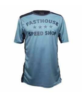 maillot FASTHOUSE BIKE fastline stars short sleeve blue