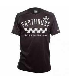 maillot FASTHOUSE BIKE alloy nelson short sleeve black