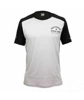 maillot FASTHOUSE BIKE alloy nelson start short sleeve silver black