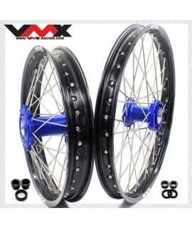 paire de roues TM Racing motocross 2018-2020 bleu noir